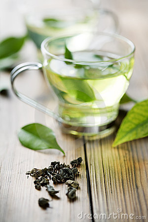 Free Green Tea Royalty Free Stock Images - 17122039