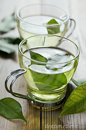 Free Green Tea Royalty Free Stock Photos - 17122888