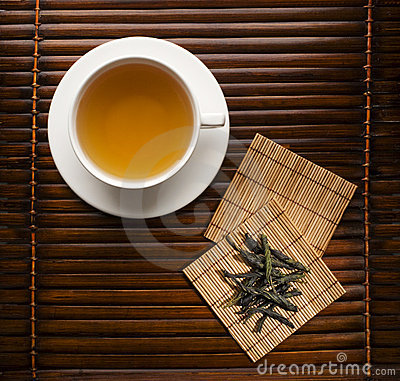 Free Green Tea Royalty Free Stock Photography - 3355027