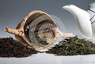 Green tea assortment