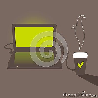 Green tea charge