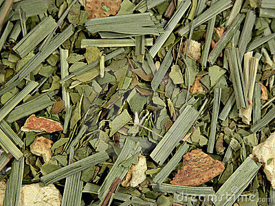 Green tea with dried fruit