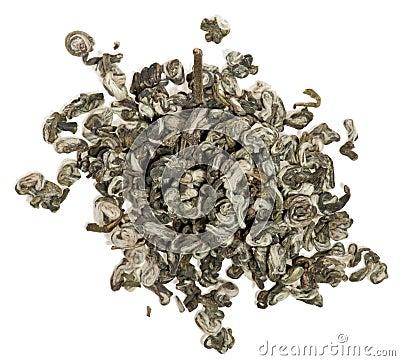 Green tea leaves - jasmine