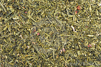 Green Tea Leaves Texture