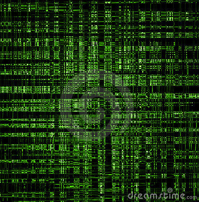 Green Techno Background