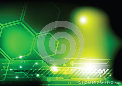 Green Technology Background Stock Photo - Image: 26322630