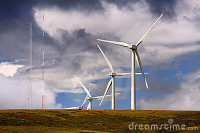 Green technology, Glendevon, Scotland