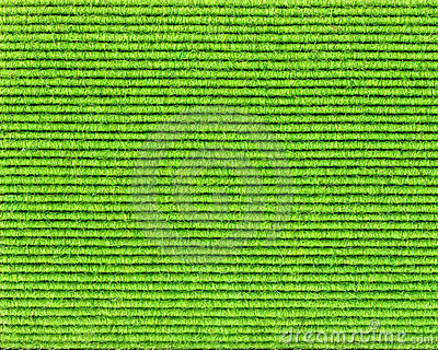 Green textile structure with lines