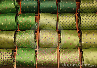 Green ties selection