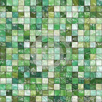 Green Tiles Background Stock Photo Image 8538540