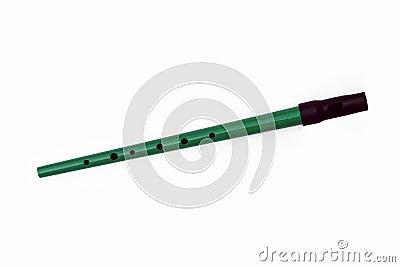 Green Tin Whistle