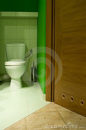 Free Green Toilet Stock Photo - 5278010