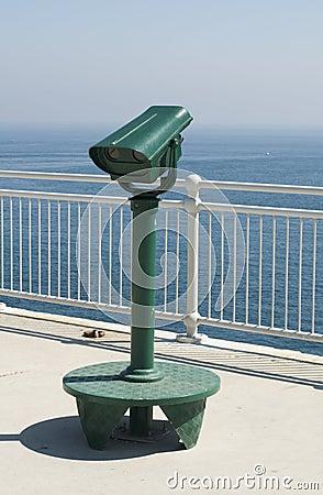 Green tourist telescope