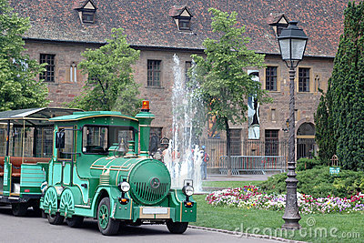 Green tourist train