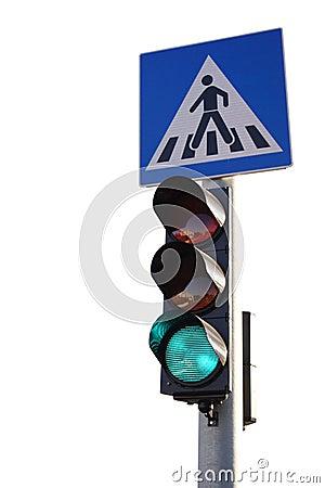 Green traffic ligh
