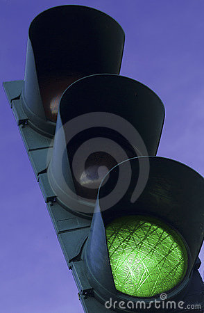 Free Green Traffic Light Stock Photos - 2154363