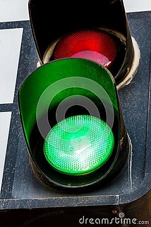 Free Green Traffic Light Stock Photos - 30279003