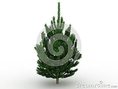 Green tree №1