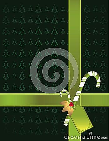 Green tree background 2