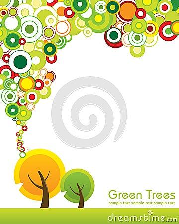Green tree concept