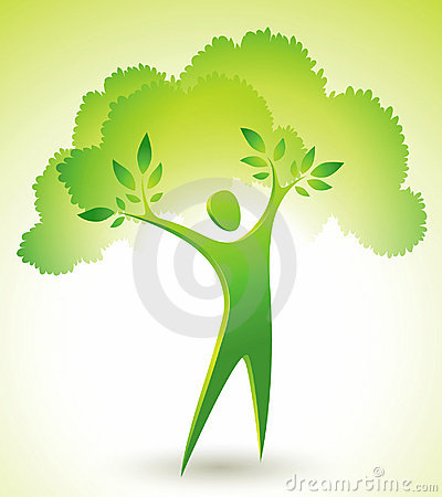 Green Tree Figure