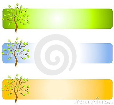 Green Tree Web Page Logos