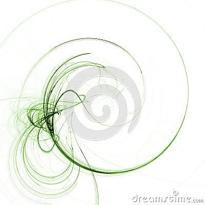 Green twirl