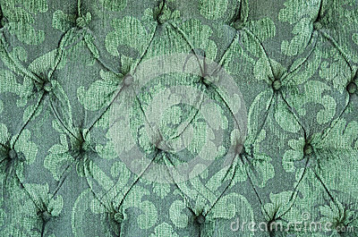 Green Upholstery Background