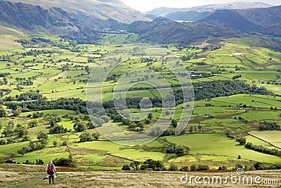 Green Valley Landscape, England