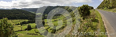 Green Valley Panorama