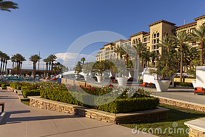 Green Valley Ranch pool and spa in Las Vegas, NV on August 20, 2 Editorial Photography