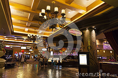 Green Valley Ranch Resort interior in Las Vegas, NV on August 20 Editorial Photo
