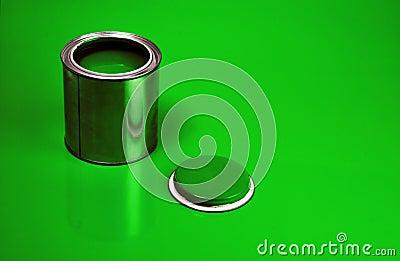 Green Varnish Can