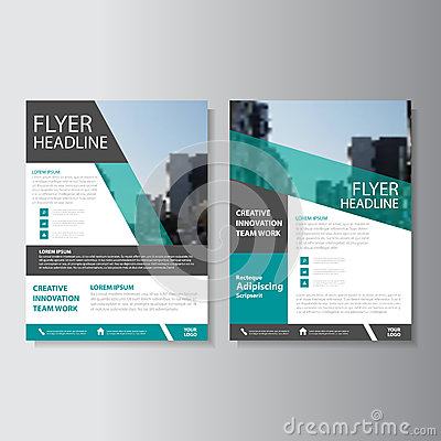 Free Green Vector Annual Report Leaflet Brochure Flyer Template Design, Book Cover Layout Design, Abstract Presentation Templates Stock Photography - 70565632