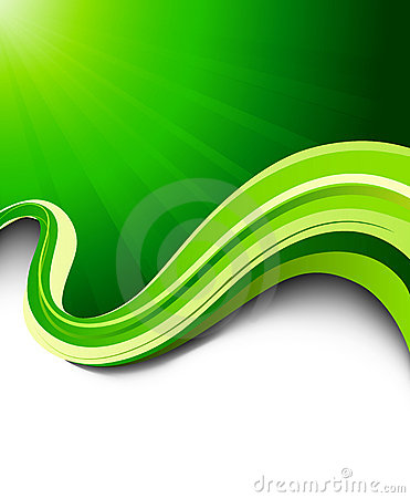 Green vector wave