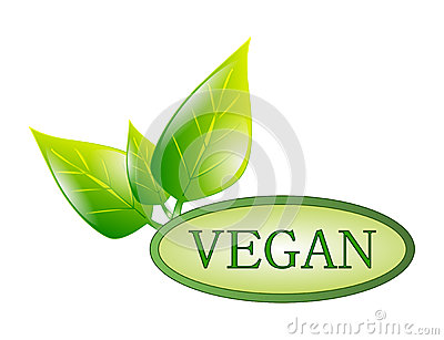 Green vegan label