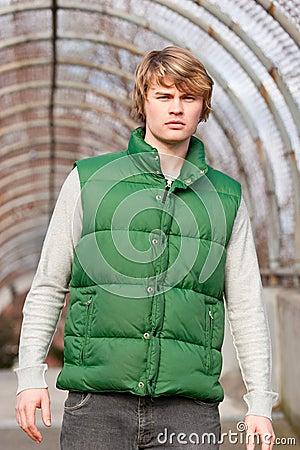 Green Vest