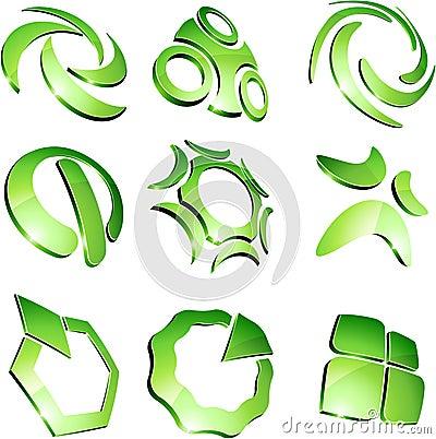 Green vibrant logos.