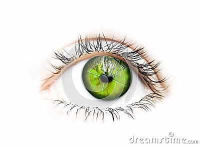 Green vision-eye