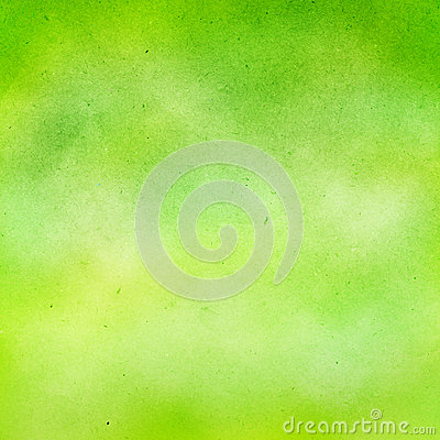 Free Green Watercolor Background. Royalty Free Stock Photo - 26062685