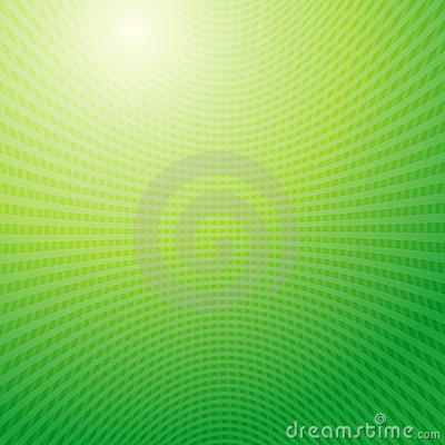 Green waves Grid abstract light background