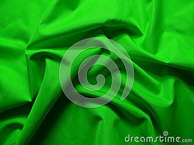 Green wavy textile