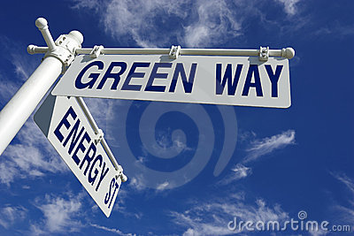 Green way and energy street