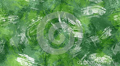 Green and White Brush Strokes Seamless Texture Background