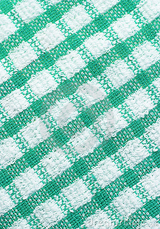 Green and white checkered pattern texture