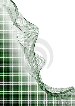 Green White Vector Lines Back Stock Photos - Image: 3283553