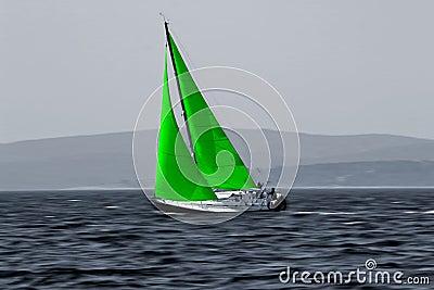 Green Wind energy eco