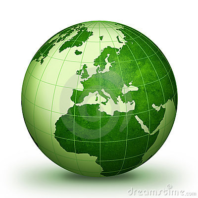 Free Green World Royalty Free Stock Image - 9531376