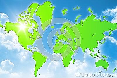Green world environment