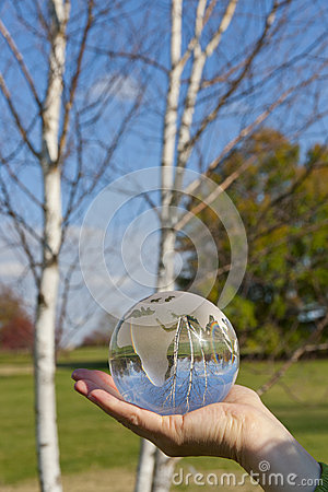 Green world in our hands